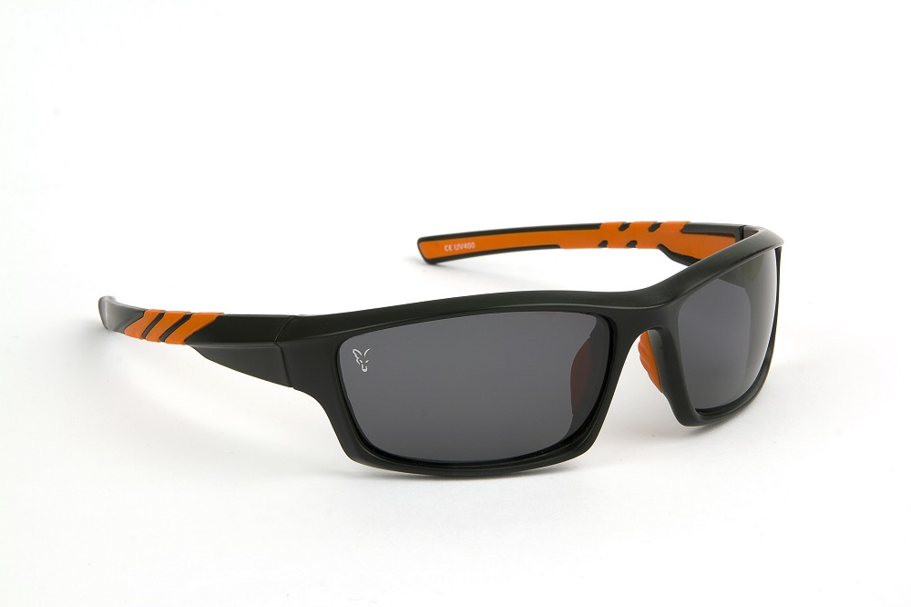 FOX BLACK-ORANGE FRAMES/GREY LENS EYEWEAR