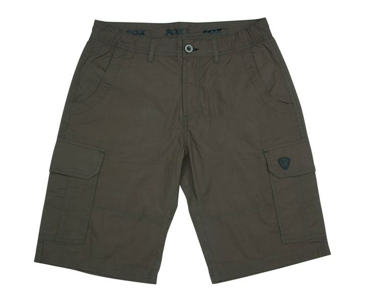 FOX GREEN-BLACK LIGHTWEIGHT CARGO SHORT L