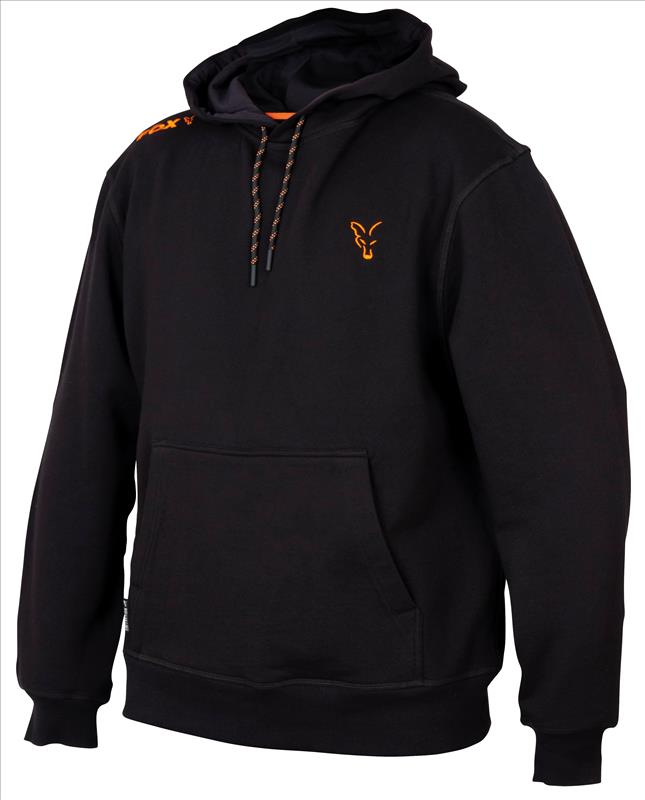 FOX Collection BLACK/ORANGE HOODY