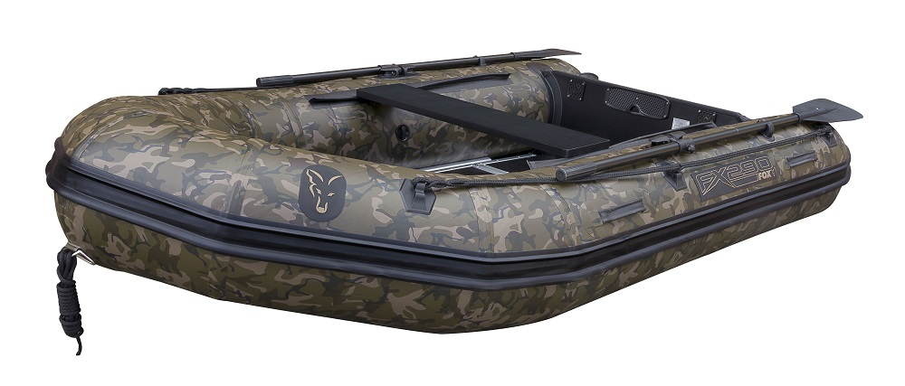 FOX 290 Camo Boat with Aliminium Floor