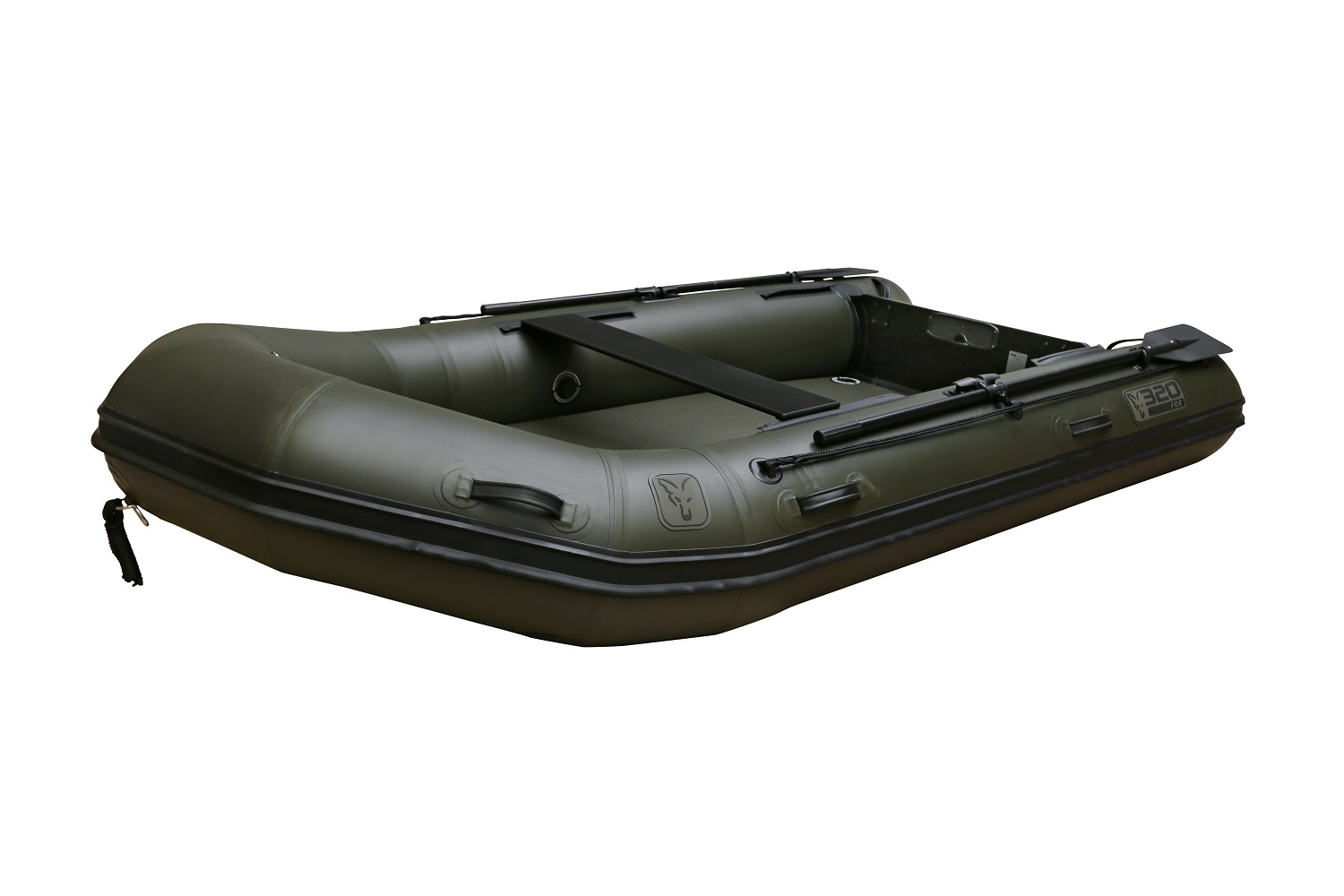 Fox320 Green Boat with Aluminium Floor