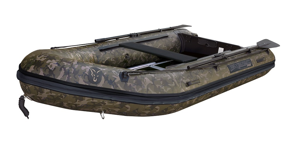 Fox320 Camo Boat with Aliminium Floor