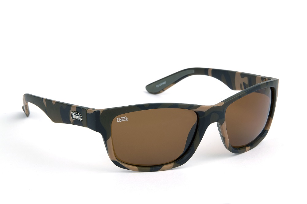 FOX CHUNK CAMO FRAMES/BROWN LENS EYEWEAR