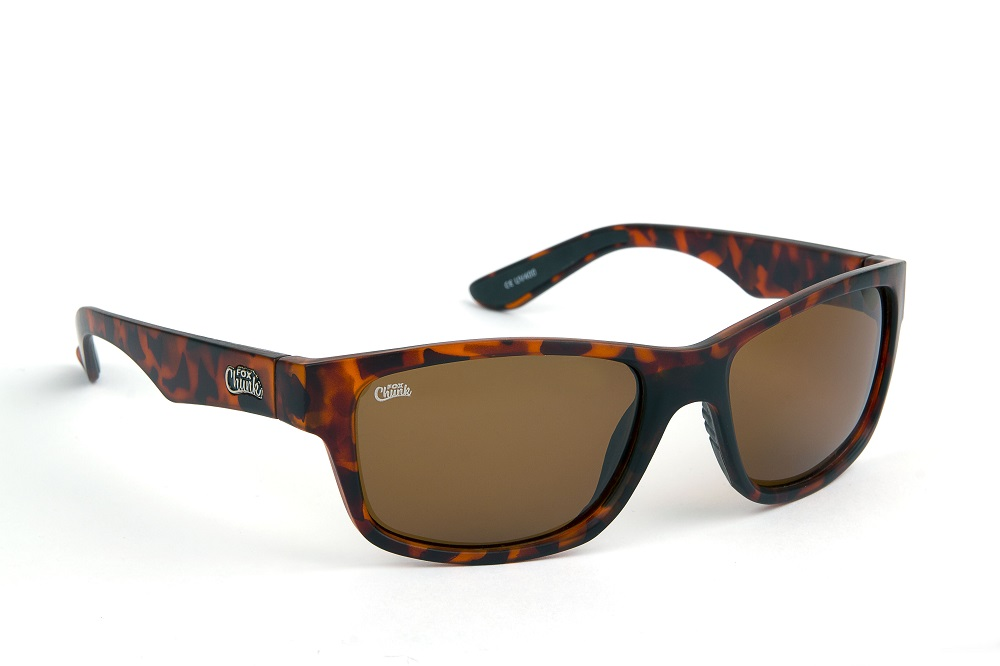 FOX CHUNK TORTOISE SHELL FRAMES/BROWN LENS EYEWEAR