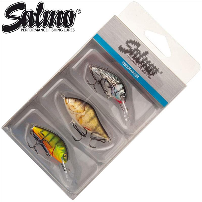 Fox SALMO Perch Pack /sada Woblerov 3ks
