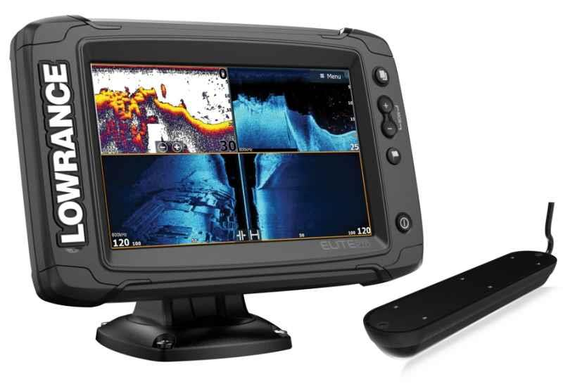 LOWRANCE Elite-9 TI-2 Active Imaging sonda 3-v-1