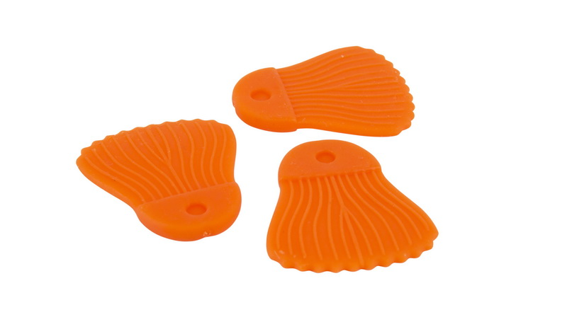 RAGE CAT BAIT FINS x10 ORANGE