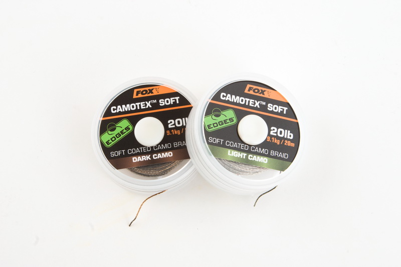 CAMOTEX SOFT DARK CAMO 15lb/ 20m