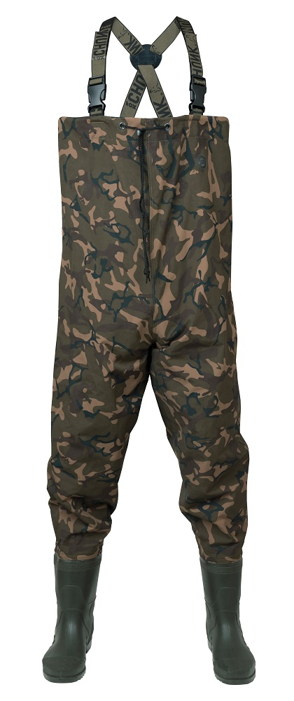 FOX CHUNK LIGHTWEIGHT CAMO WADERS 44