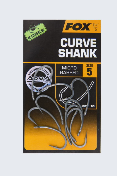 CURVE SHANK Size 8B BARBLESS