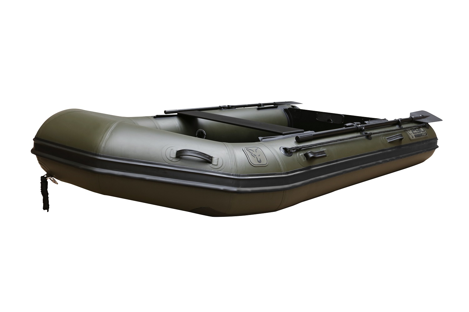 FOX 2.9m Green Inflable Boat - Air Deck Green