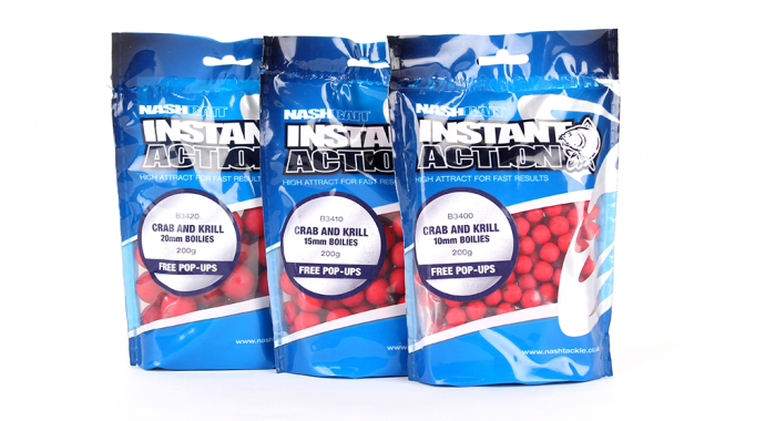 KEVIN NASH INSTANT ACTION CRAB AND KRILL 200g 15mm