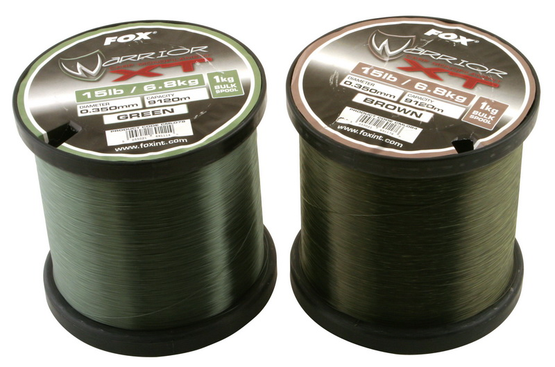 WARRIOR XT CARP LINE GREEN 9,1kg 0,380mm