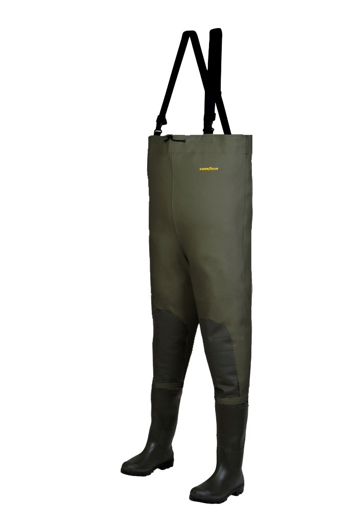 PRSACKY WADERS LE COMBI SP GREEN 44