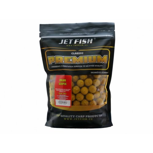 Boilies PREMIUM CLASICC 700g 20mm CREAM / SCOPEX