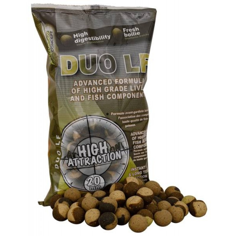 Boilies DUO LF 14mm/1kg