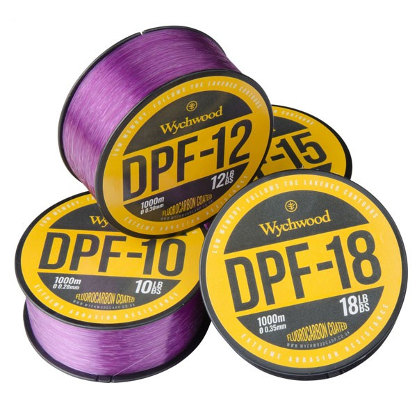 Wychwood Vlasec Deep Purple Fluoro Coated Mono 15lb/0,32mm/1000m