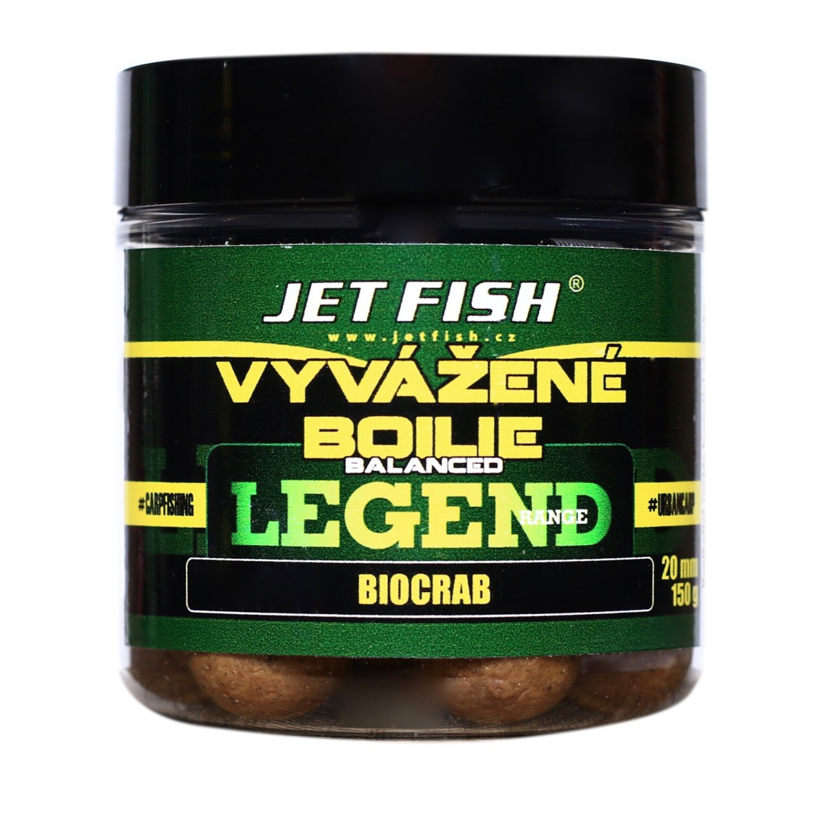 LEGEND Vyvážený boilies KLUB RED-SLIVKA/SCOPEX 20mm 130g