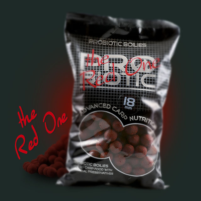 Boilies Probiotic RED ONE 10mm/1kg