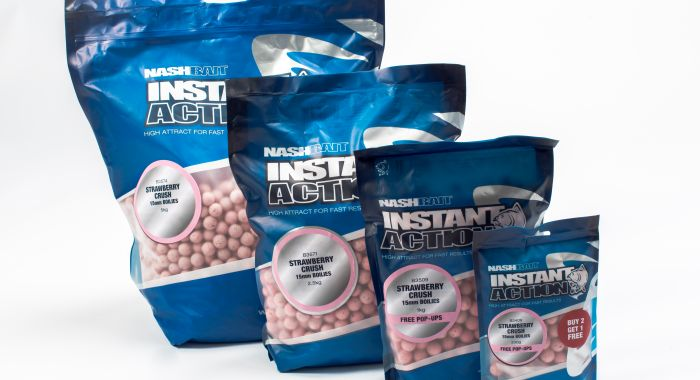 NASH Strawberry Crush Boilies 20mm 2.5kg