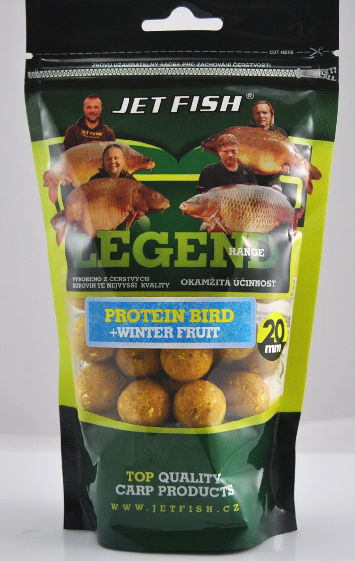 Boilies LEGEND PROTEIN BIRD WINTER FRUIT 24mm/250g