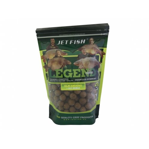 Boilie LEGEND GLM ENDURO MUŠĽA 24mm 1kg