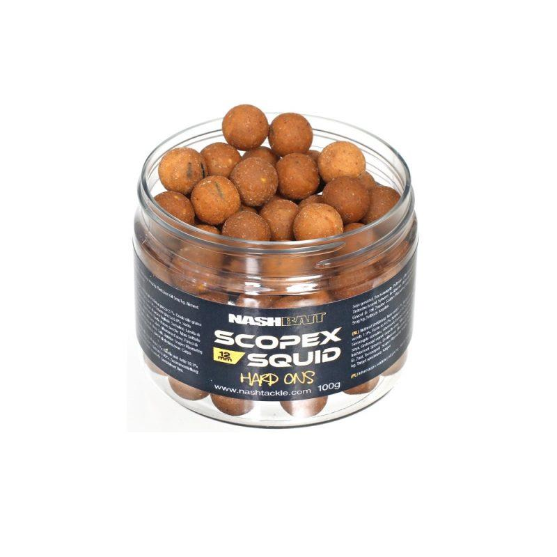 Nash Boilies Scopex & Squid Hard-Ons Tvrdé 12mm